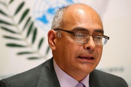 Carlos Humberto Alvarado, ministro de Salud de la dictadura venezolana (REUTERS/Denis Balibouse)