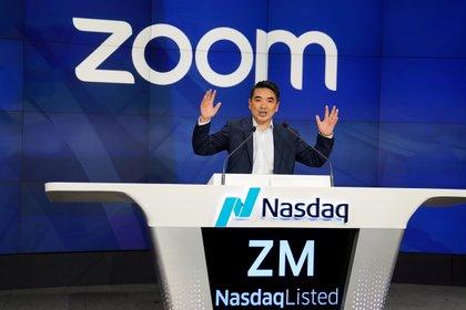 Eric Yuan, CEO de Zoom (Reuters)