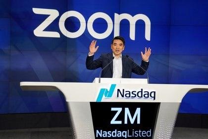 Eric Yuan, CEO de Zoom Video Communications (REUTERS/Carlo Allegri/File Photo)