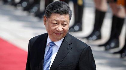 El presidente chino Xi Jinping, en Beijing, China, el 14 de mayo de 2019 (REUTERS/Jason Lee/File Photo)
