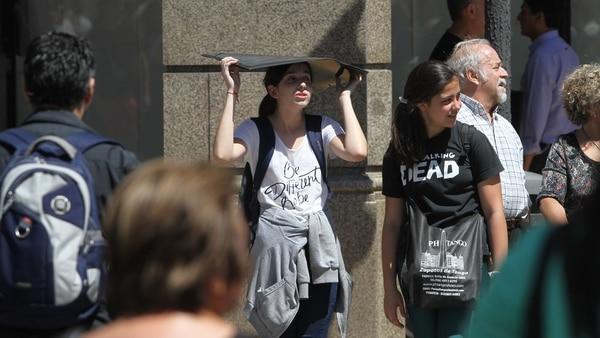 2017 en Argentina, el año más cálido