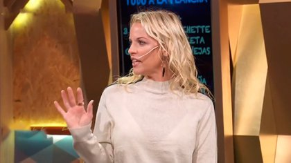 Carina Zampini se mostró muy enojada con Valentino