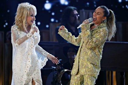 Las cantantes han colaborado juntas (Foto: REUTERS/Mike Blake)