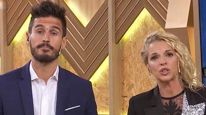 Juan Marconi y Carina Zampini, los conductores de reality que se encuentran aislados tras contraer COVID-19