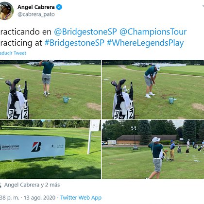 La publicación de Cabrera en redes sociales durante los últimos días