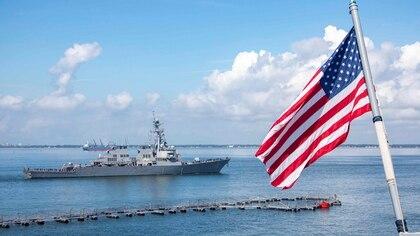 La Armada de EEUU está preparada para la operación antidrogas (REUTERS)