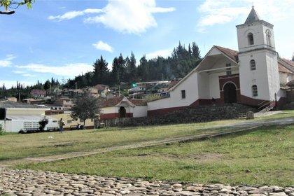 Sutatausa es un tranquilo pueblo de Colombia, a 80 kilómetros de Bogotá.