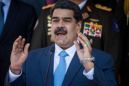 Rafael Ramírez responsabilizó a Nicolás Maduro del drama humanitario que atraviesa Venezuela (EFE/ Miguel Gutiérrez)