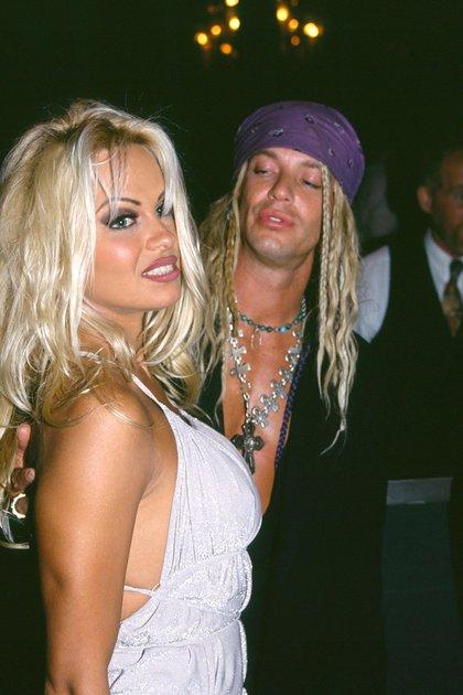 Pamela Anderson y Bret Michaels (Foto: Bei/ Shutterstock)