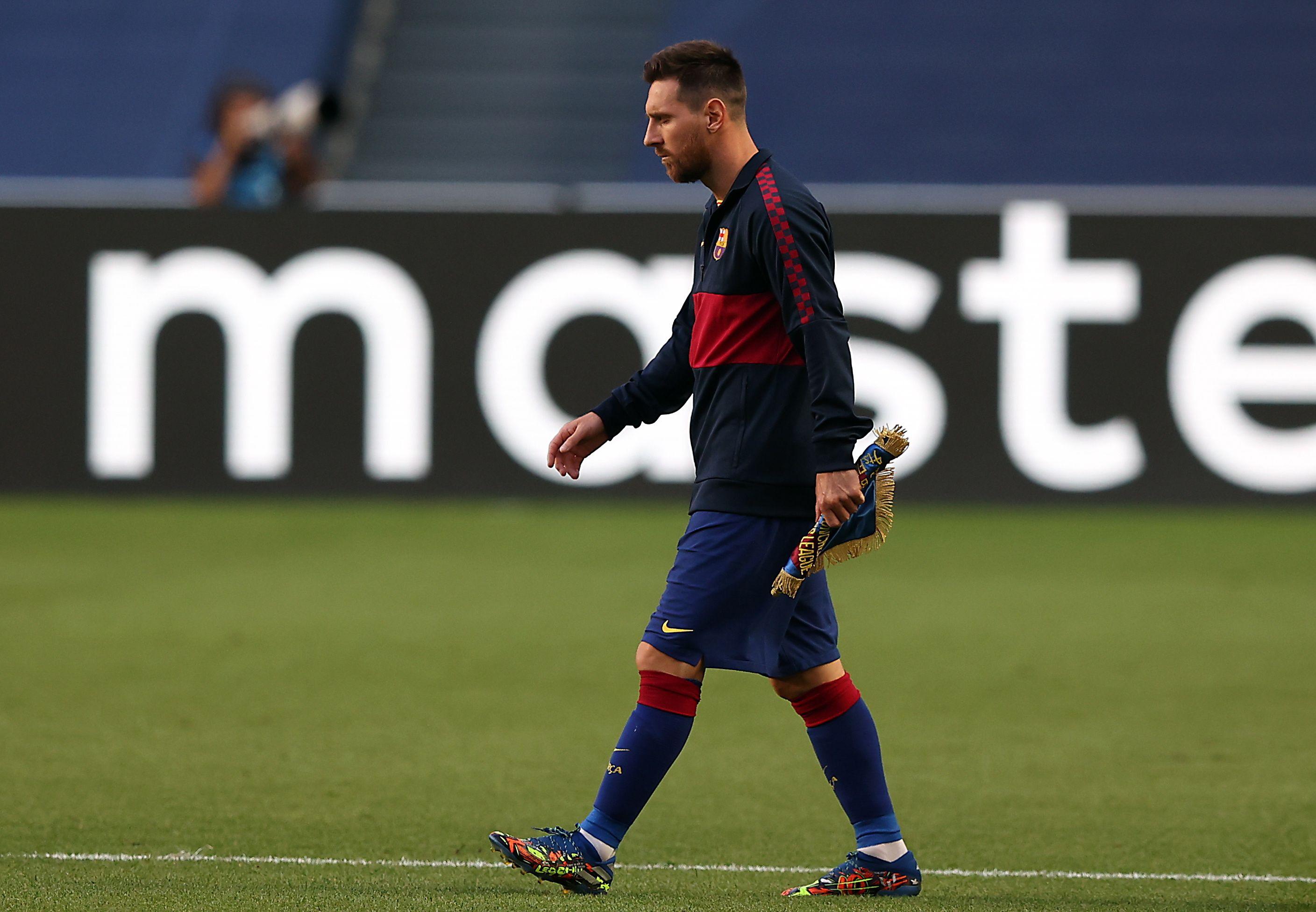 Messi no se presentó al comienzo de los trabajos del Barcelona y podría recibir una sanción (EFE/Rafael Marchante)