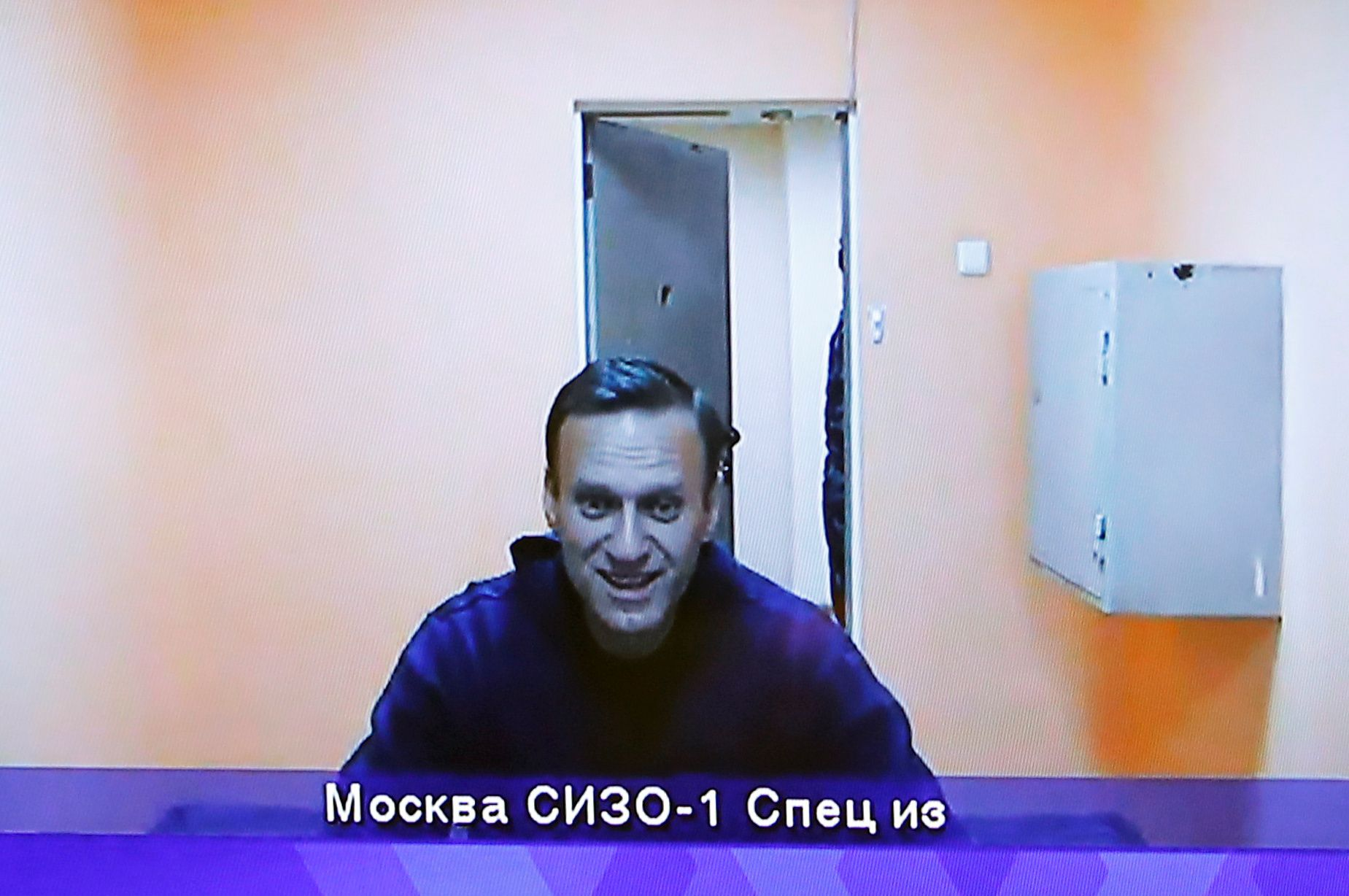 El líder opositor ruso, Alexei Navalny