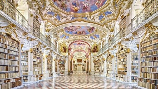 En el monasterio austríaco de Admont se encuentra la biblioteca más grande de Austria (Sitio oficial)