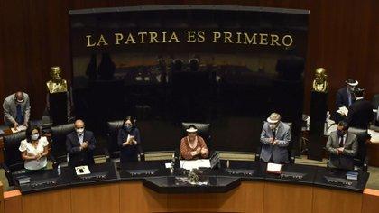La Comisión Permanente del Congreso mexicano se instaló este viernes, junto a su mesa directiva (Foto: Mario Jasso/ Cuartoscuro)