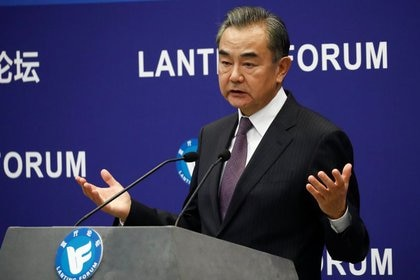 El ministro de Asuntos Exteriores de China, Wang Yi, en Pekín. China, 28 de septiembre de 2020. REUTERS/Thomas Peter/Files