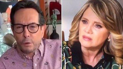 Juan José Origel y Erika Buenfil han protagonizado una guerra de declaraciones (IG: juanjoseorigel/erikabuenfil50)