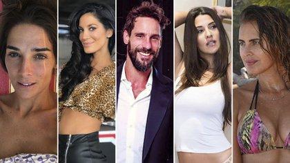 Juana Viale, Silvina Escudero, Gonzalo Valenzuela, Ivanal Nadal y Silvina Luna