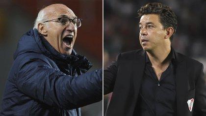 Bianchi y Gallardo, íconos en Boca y River
