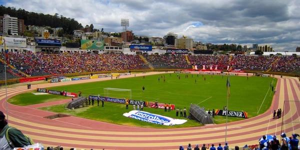 El estadio olímpico atahualpa, en quito, fue inaugurado en 1951