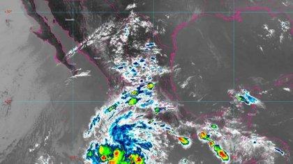 La tormenta tropical Andrés se formó frente a las costas de Michoacán y batió un nuevo récord
