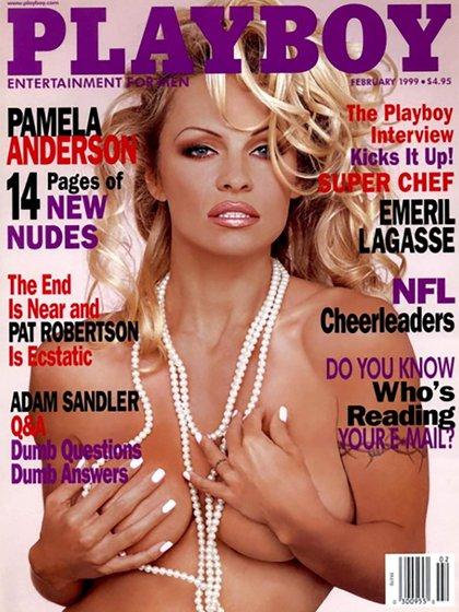 Pamela Anderson, una de las máximas protagonistas de las portadas de Playboy