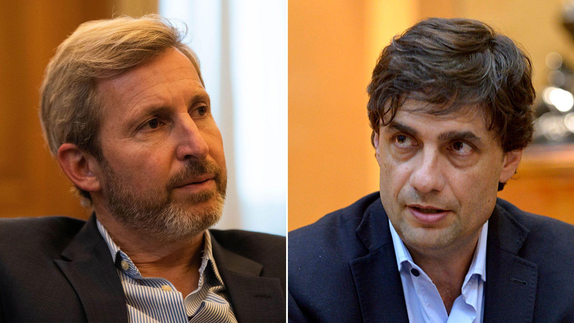 Rogelio Frigerio y Hernán Lacunza, dos ministros dedicados a la transición