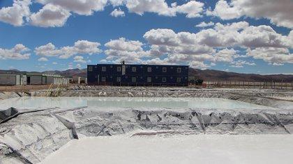Una mina de litio en el norte argentino