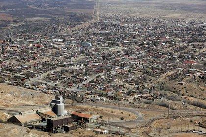 Vista del pueblo Cananea, en el estado Sonora, en México Foto: (REUTERS/Daniel Aguilar)