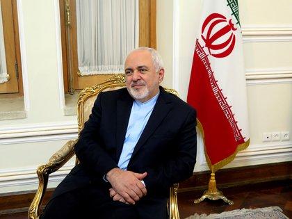 El jefe de la diplomacia iraní, Mohamad Yavad Zarif. EFE/Marina Villén/Archivo
