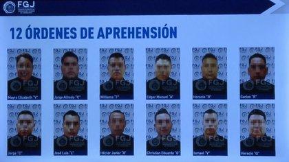 Las órdenes de arresto ya fueron cumplimentadas contra los 12 agentes (Foto: Twitter)