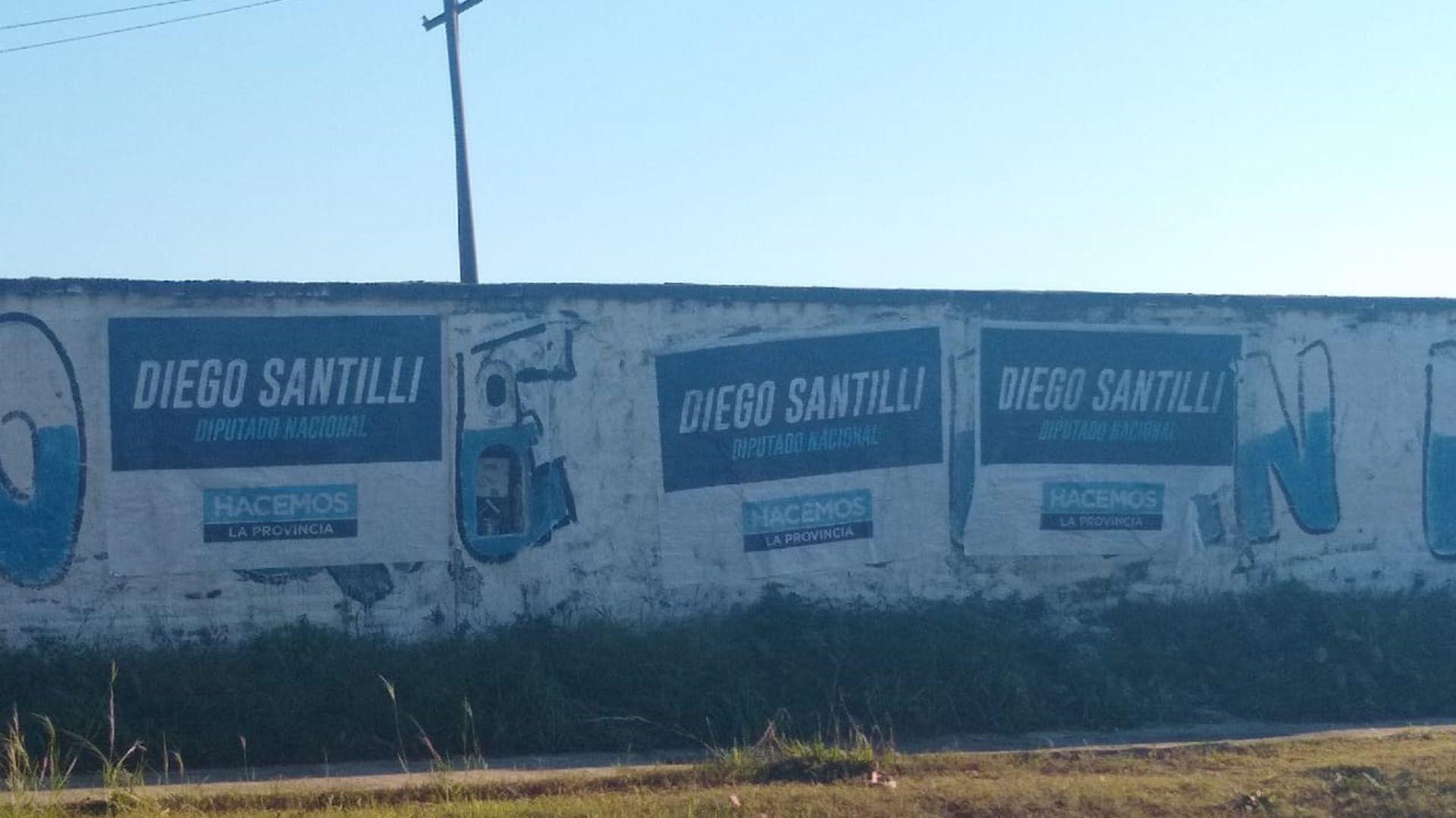 Diego Santilli en la provincia de Buenos Aires