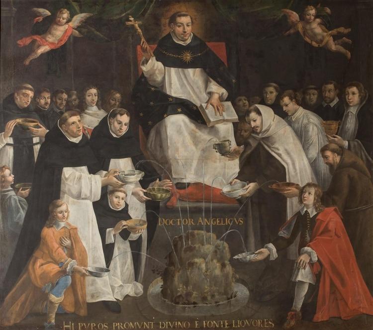 """""""Santo Tomás de Aquino"""" de Antoine Nicolas"""
