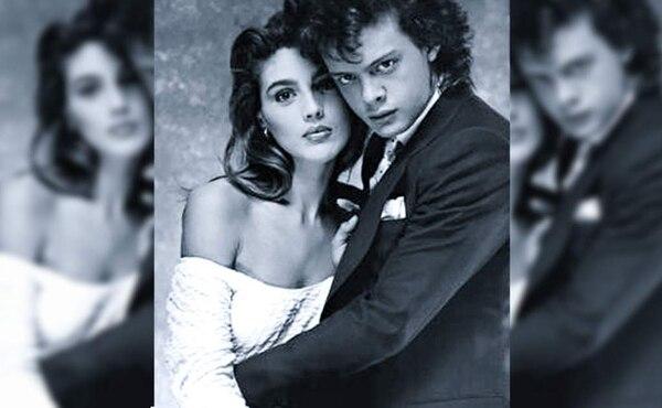 Claudia Heinze participó en el video de Luis Miguel en 1988