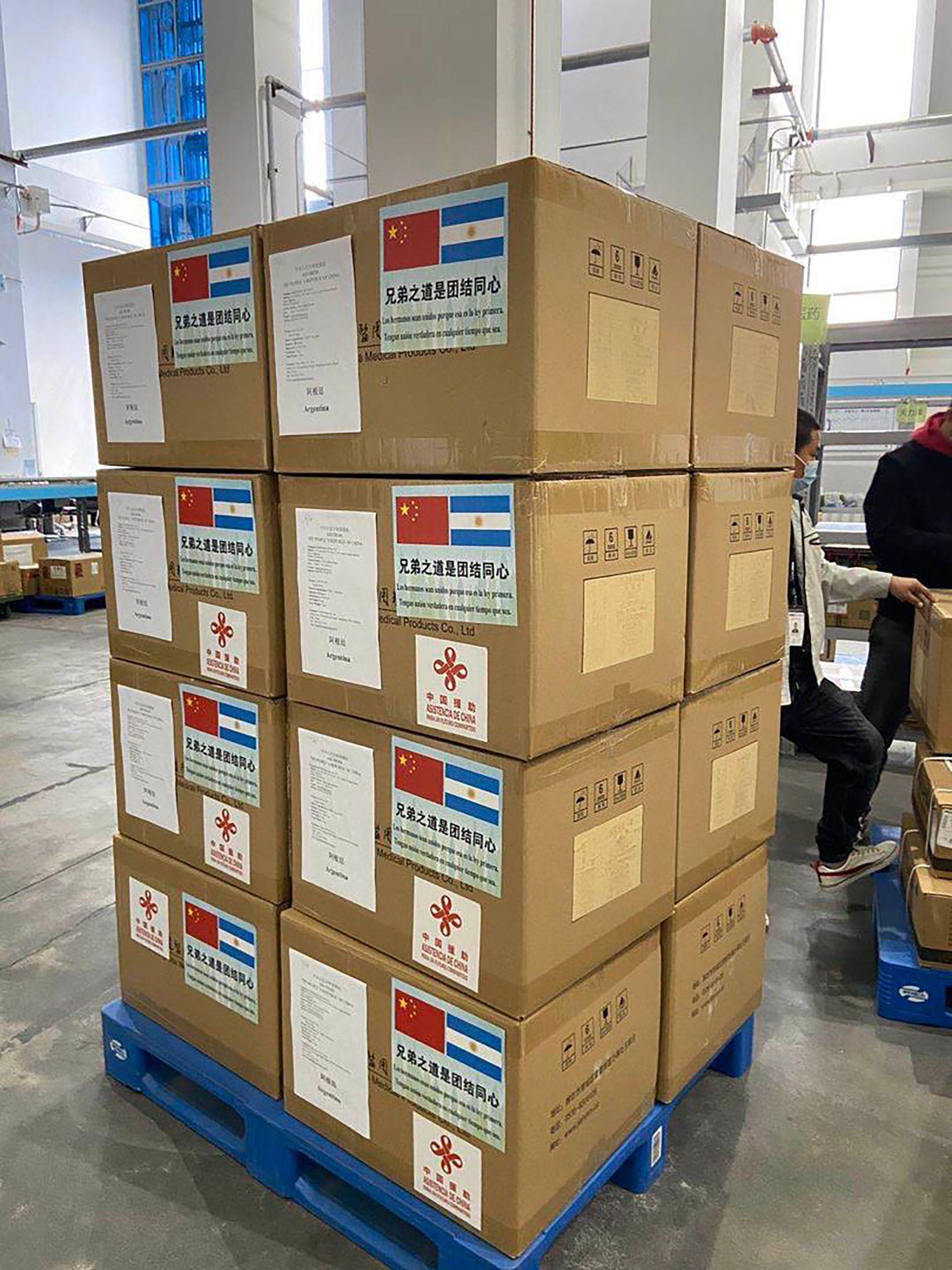 China donaciones