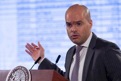 León Romero fue también asesor de comunicación social del exgobernador de Chiapas, Manuel Velasco Coello. (Foto: Gobierno de México)