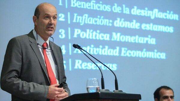 El presidente del BCRA Federico Sturzenegger (NA)