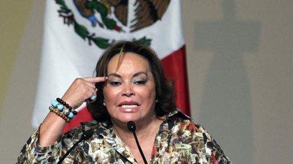 """""""La Maestra"""" en sus años de gloria política. (Foto Reuters)"""