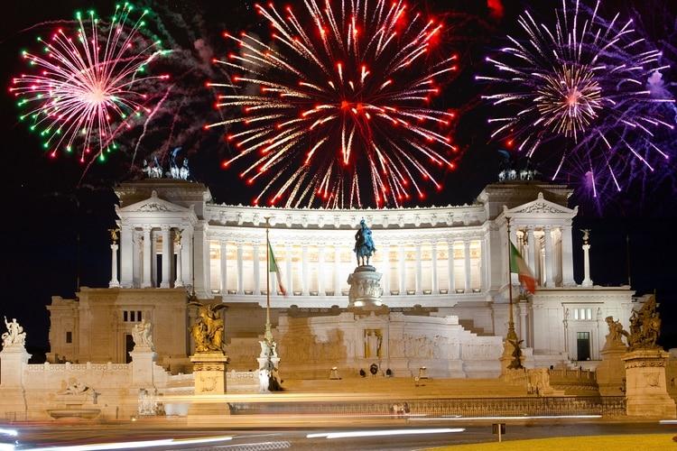 Año nuevo en Roma (Shutterstock)