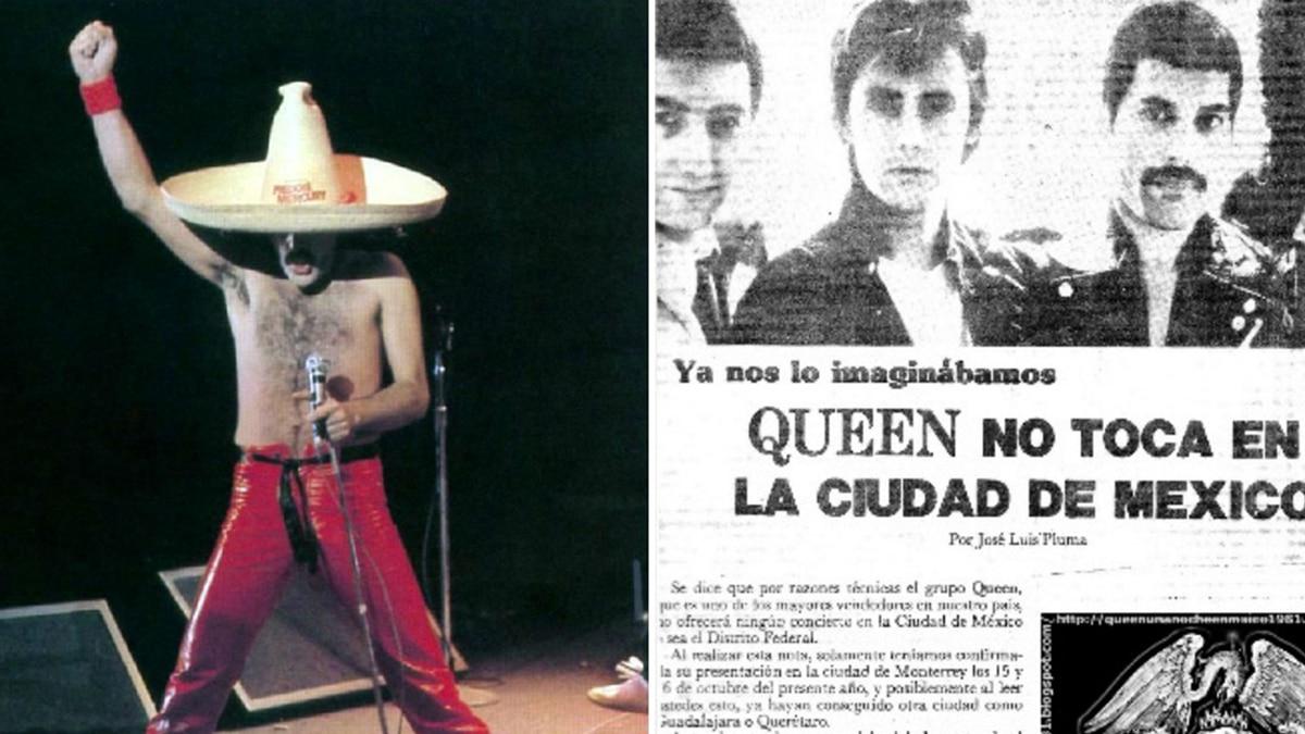 El día que Freddie Mercury ofendió a México y decidió no volver a  presentarse en el país - Infobae 452b3db07a1
