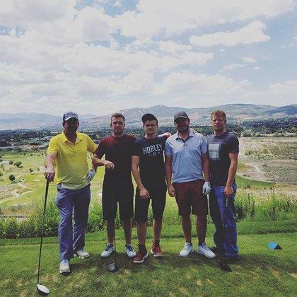 Joseph Cole mostró algunas fotografías de su vida y su gusto por el golf. (Foto: Instagram)