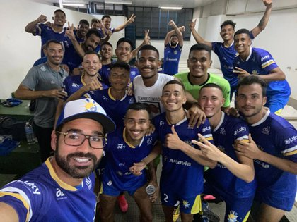 Las Palmas Fútbol y Regatas milita en la cuarta división del fútbol brasileño (Twitter)