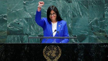 Delcy Rodríguez (Reuters)
