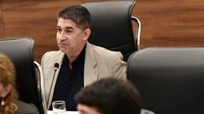 Trasante en su labor como concejal de Rosario