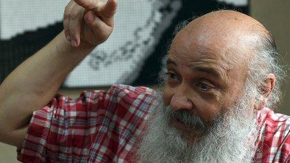 Emilio Pérsico, referente del Movimiento Evita y funcionario del Ministerio de Desarrollo Social
