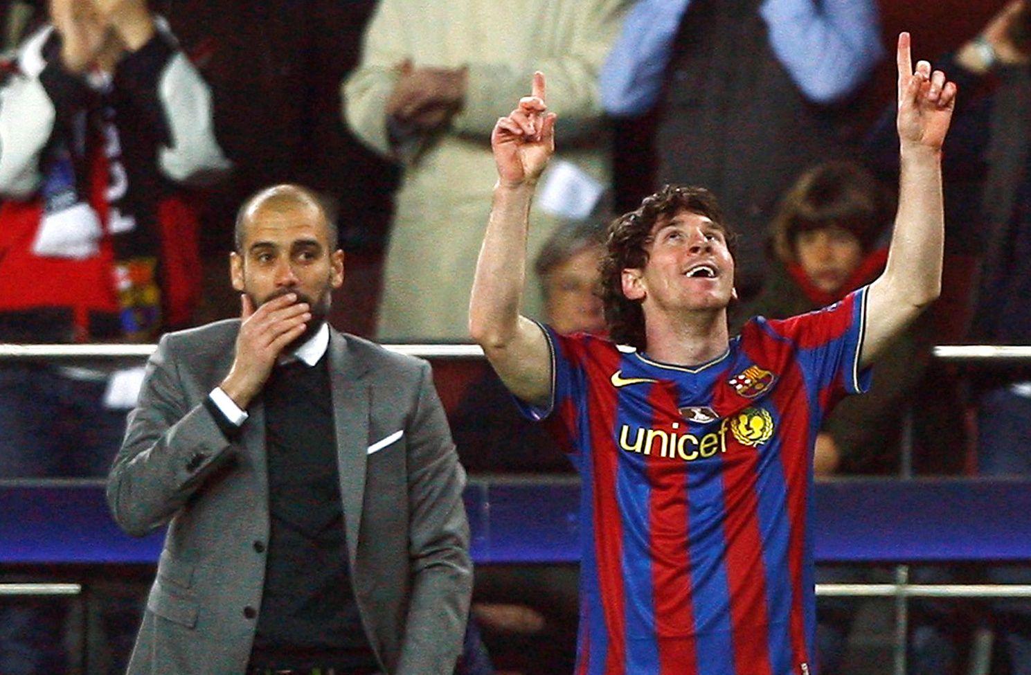 Fantino sostuvo que Messi únicamente aceptó ser el número dos de Guardiola y de nadie más REUTERS/Albert Gea