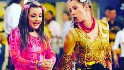 """Lorena de la Garza y Consuelo Duval en sus papeles de """"Nacasia"""" y """"Nacaranda"""" (Foto: Instagram @consueloduval)"""