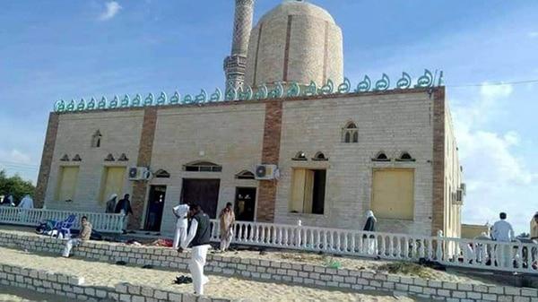 La mezquita donde se produjo el ataque