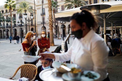 Pandemia de COVID-19 en Barcelona, España. REUTERS/Nacho Doce