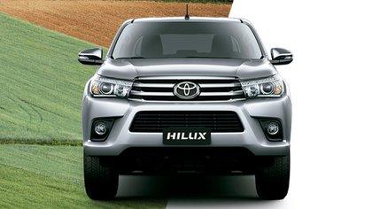 La Hilux continúa siendo la pickup más vendida del país y también está disponible por Plan de Ahorro Toyota.