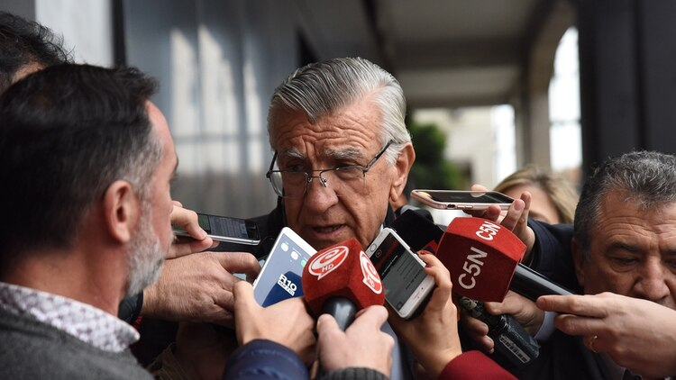 El presidente del PJ Nacional, José Luis Gioja