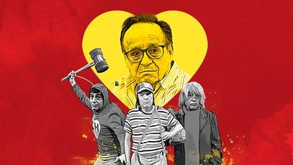 Chespirito logró ser el máximo creador de personajes entrañables en Latinoamérica